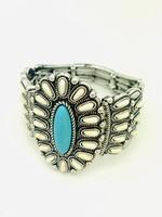 oval turquoise bracelet