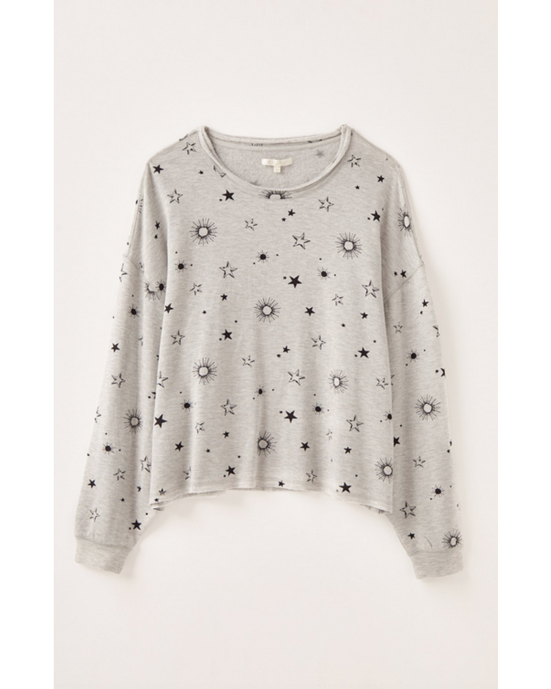 z supply z supply jessie star long sleeve