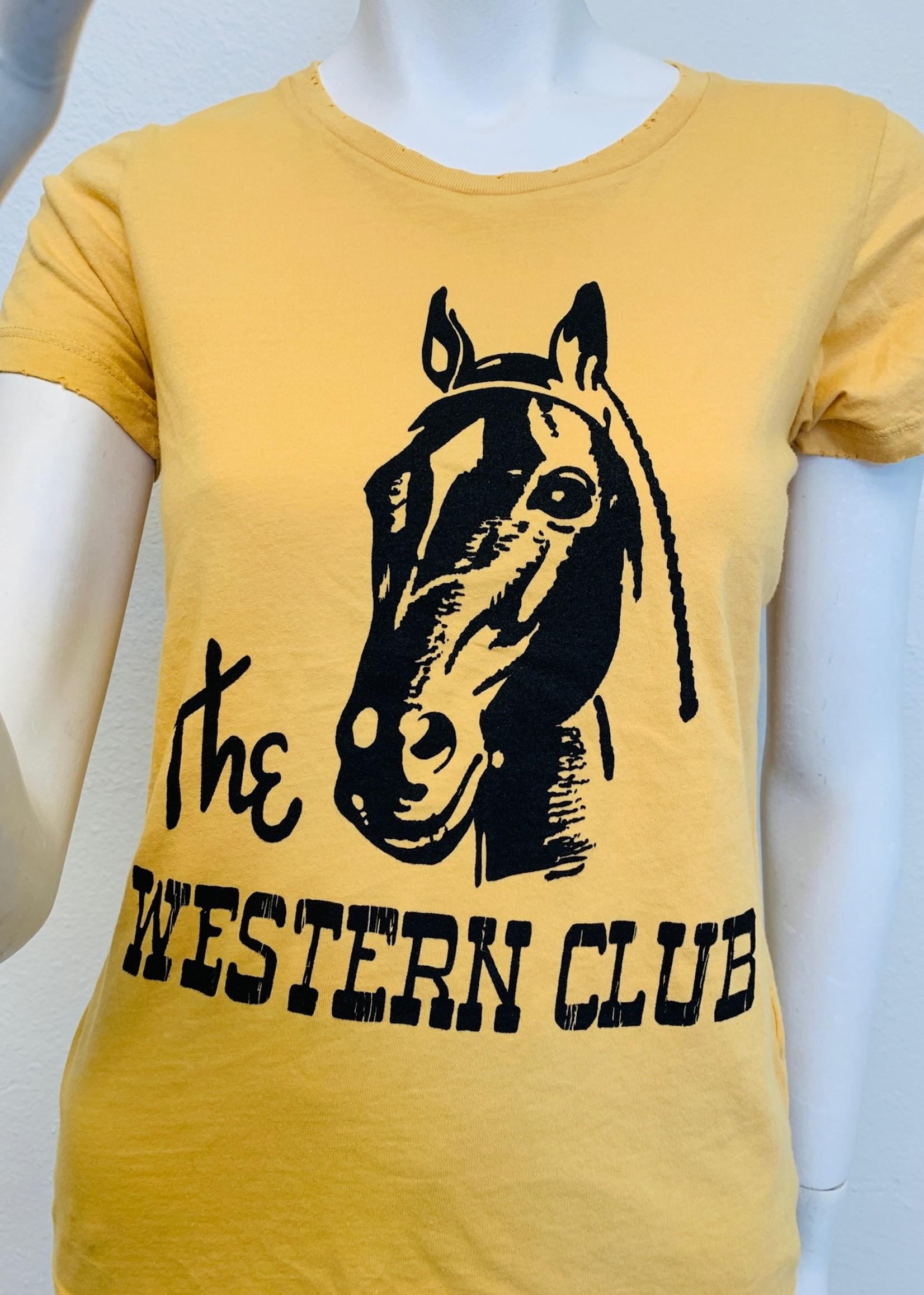 bandit brand bandit brand western club tee