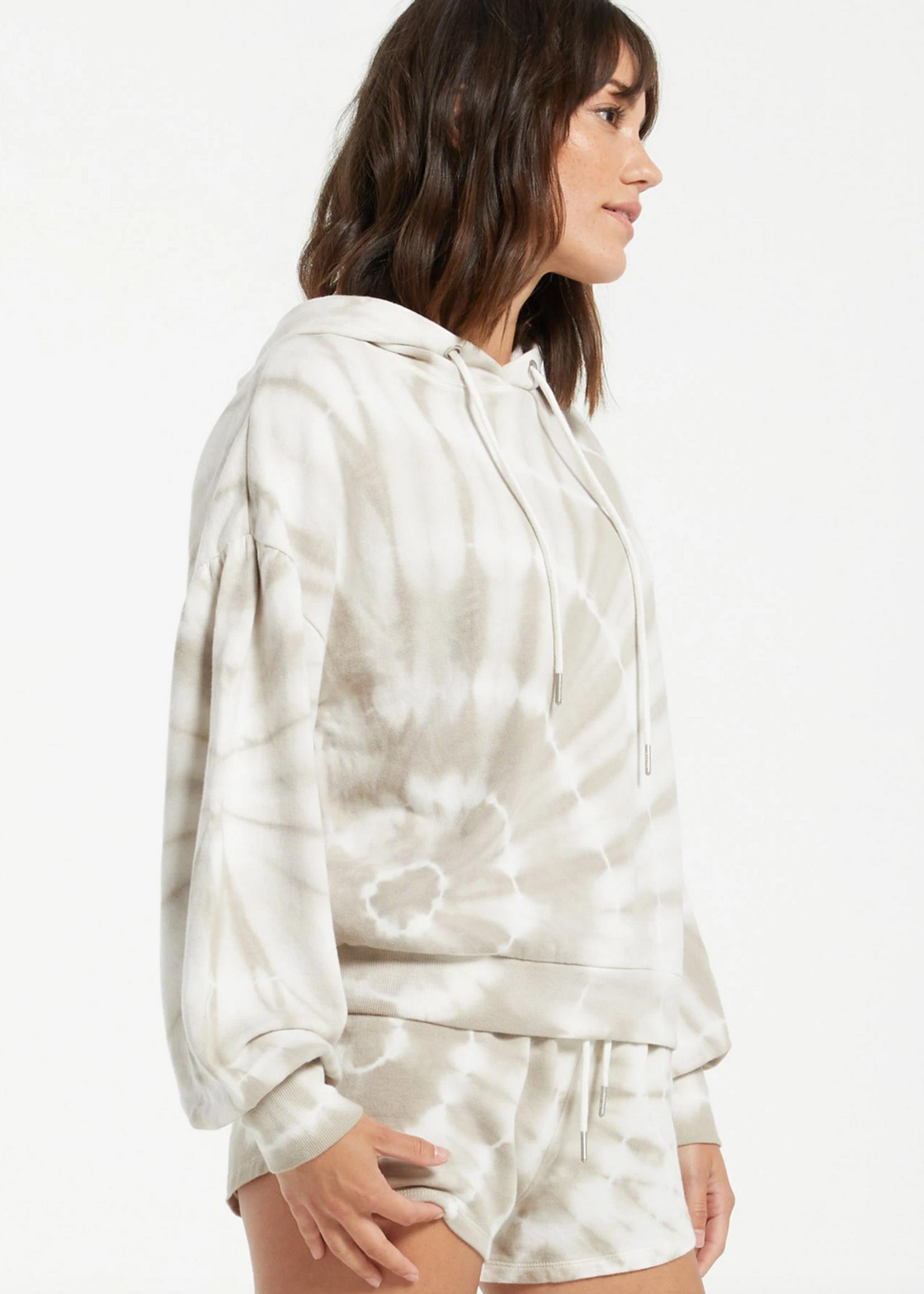 z supply z supply eva spiral tie dye hoodie