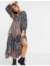 free people estelle chiffon maxi