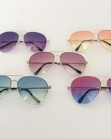 rainbow aviator sunglasses