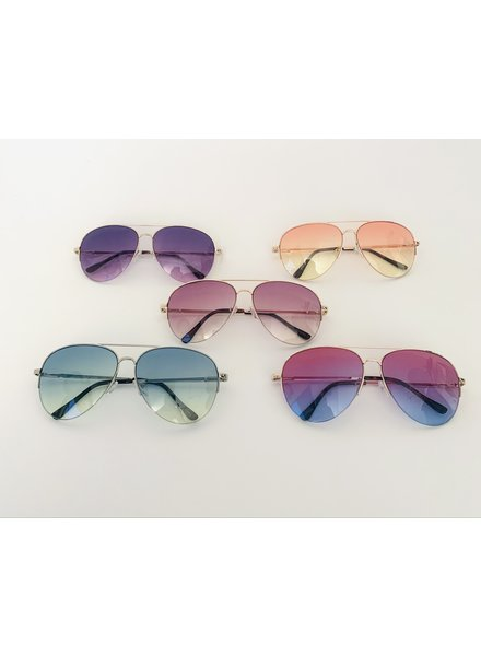 rainbow aviator sunglasses