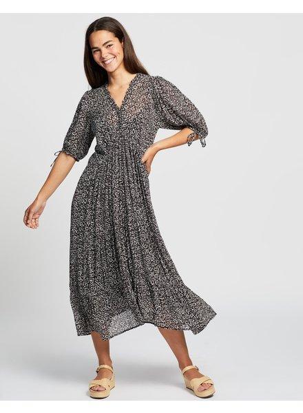 auguste the label marlowe rye midi dress