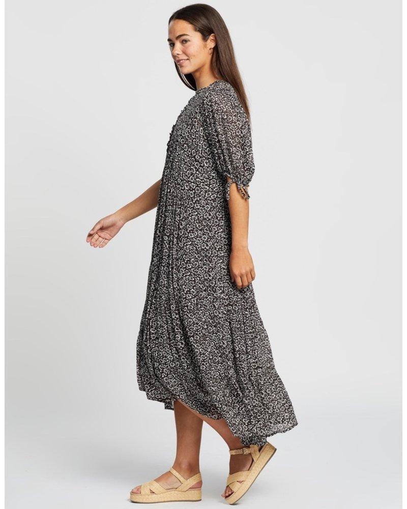auguste the label auguste marlowe rye midi dress