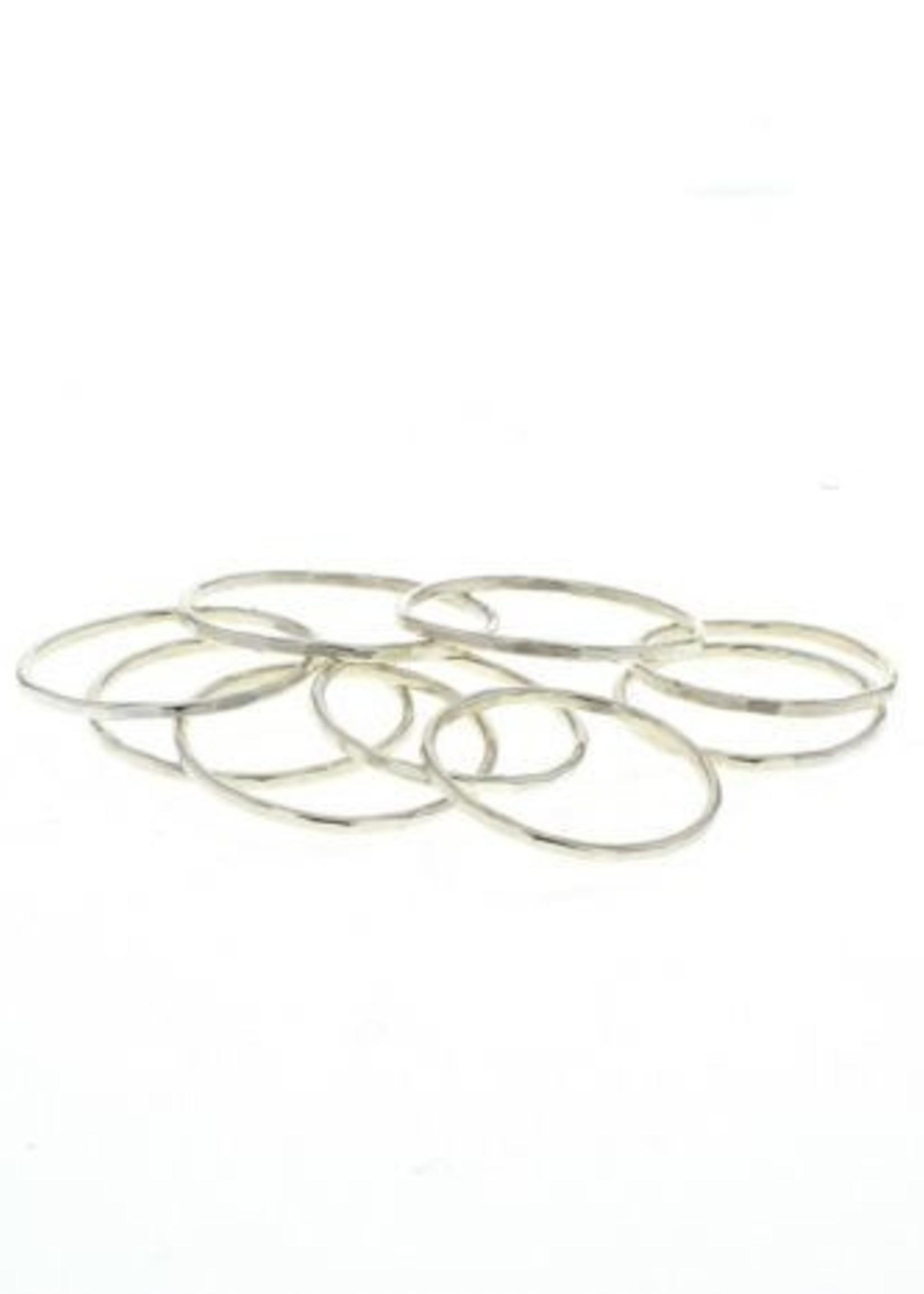 lotus jewelry studio lotus stacking ring silver