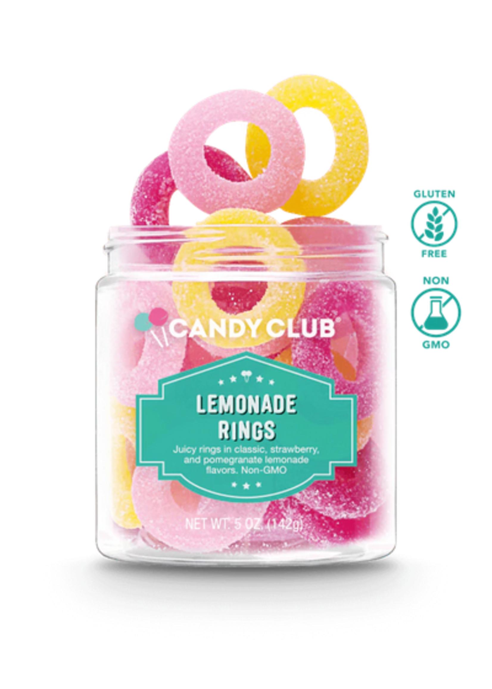 candy club lemonade rings
