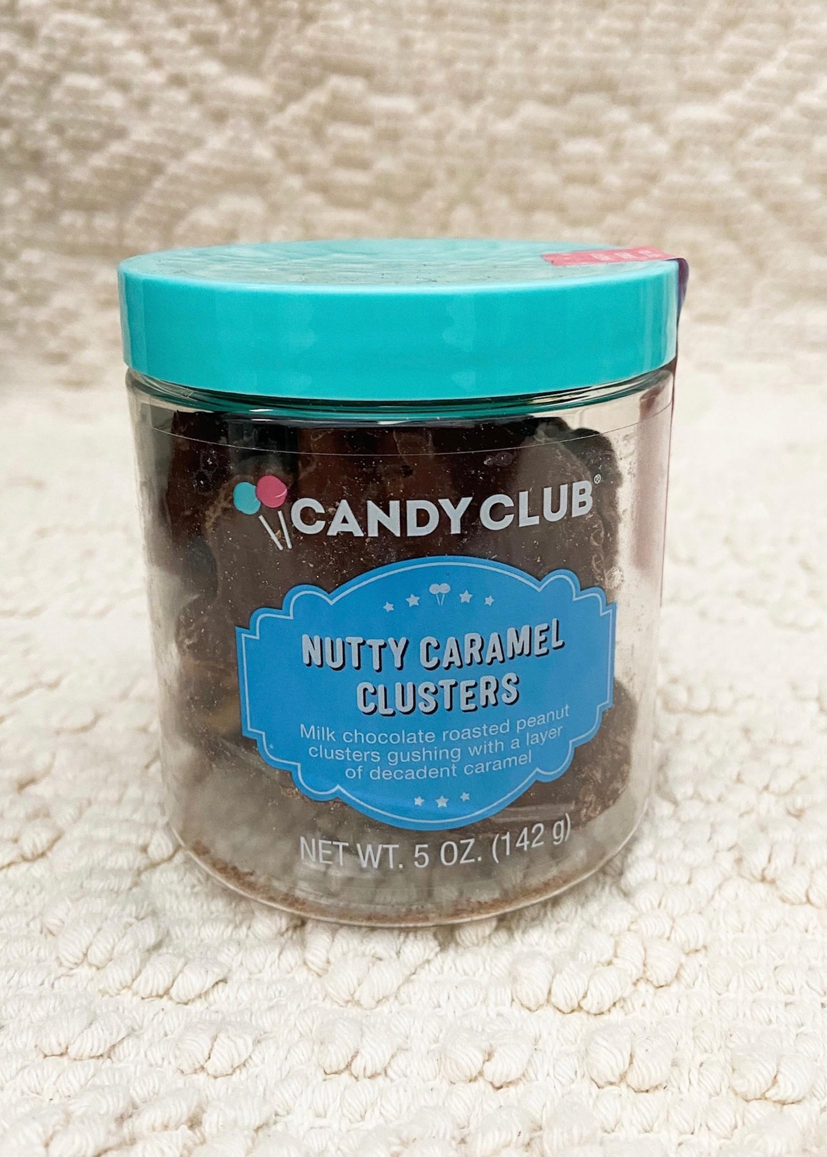 candy club candy club nutty caramel clusters