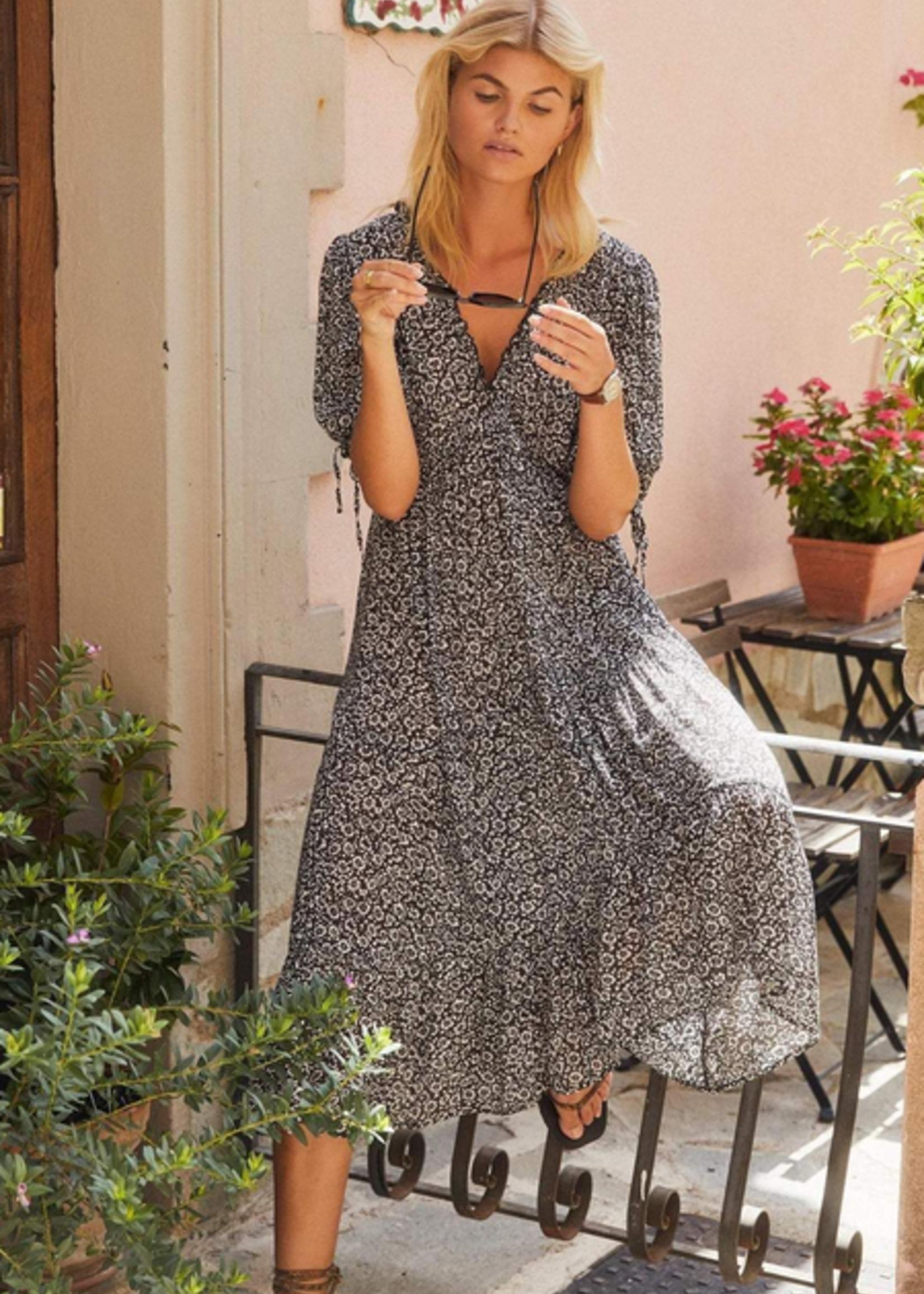 auguste marlowe rye midi dress