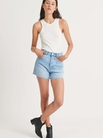rollas original blue denim shorts