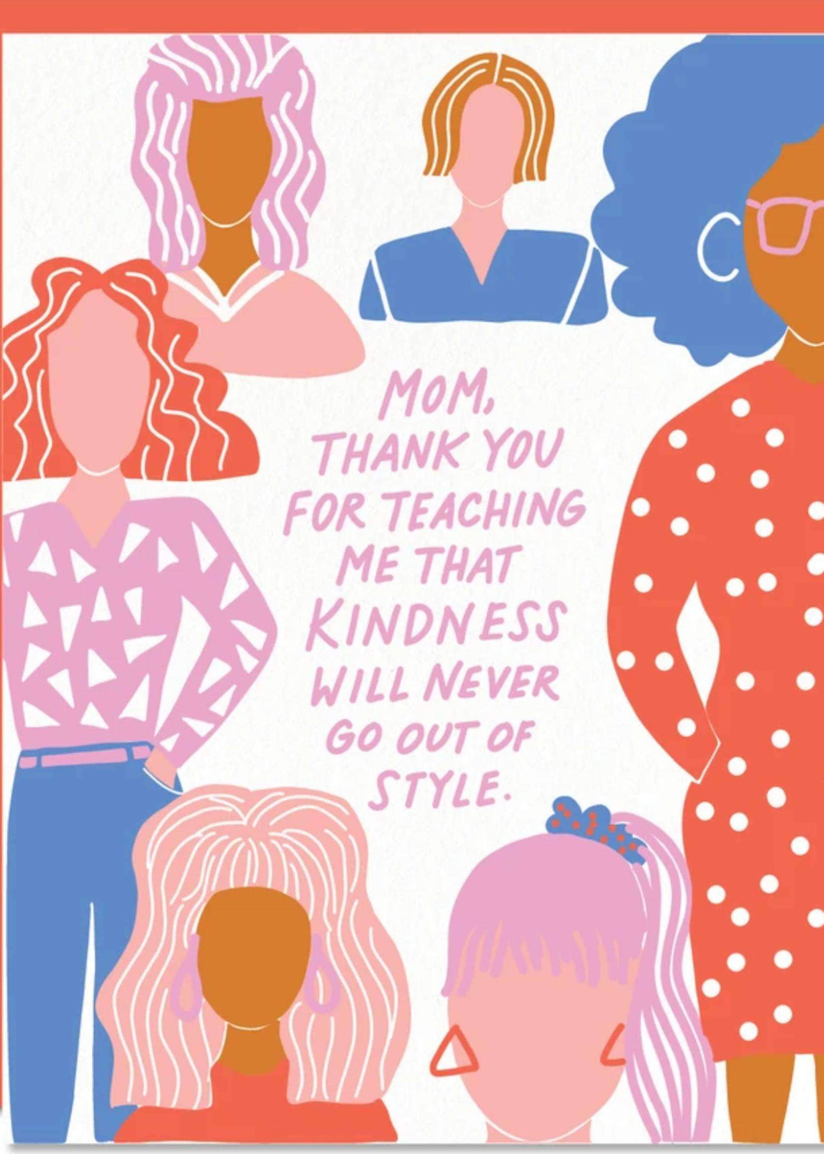 odd daughter kindness card