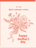 odd daughter paper company best woman i know card