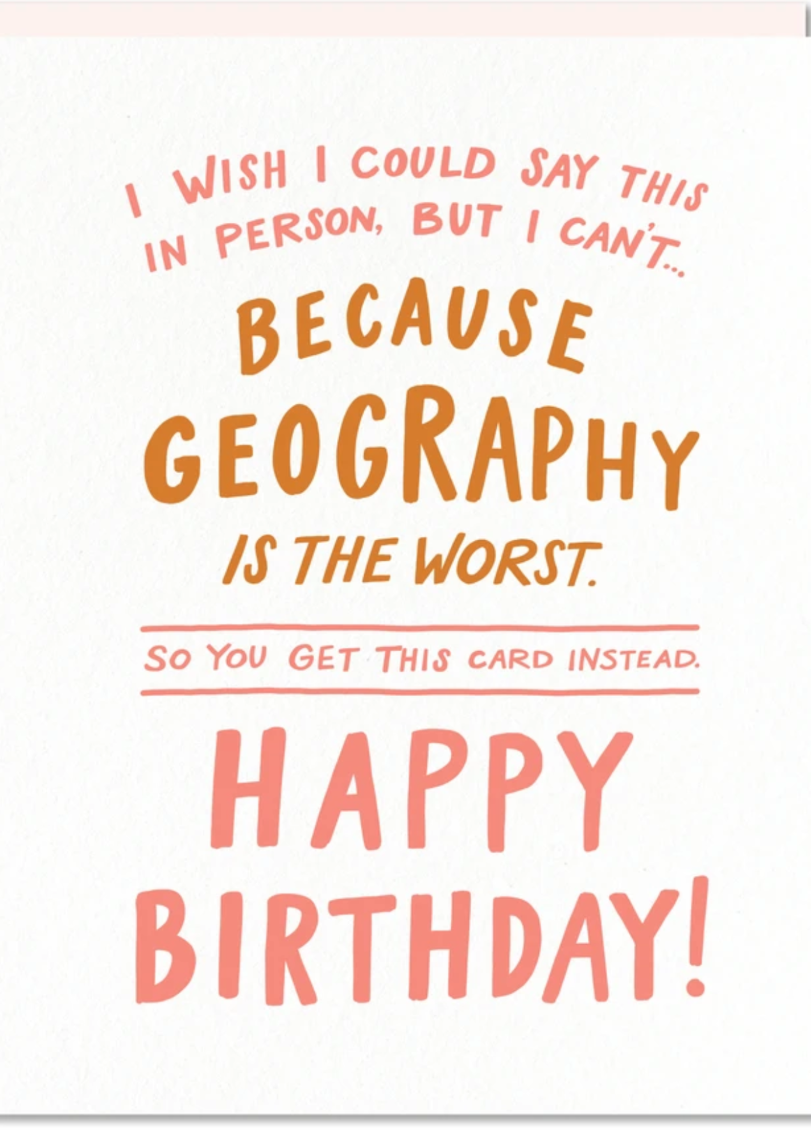 odd daughter geography card
