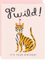 go wild birthday card