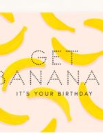get bananas birthday card