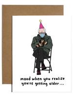 bernie sanders mood card