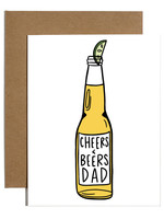 cheers and beers dad card