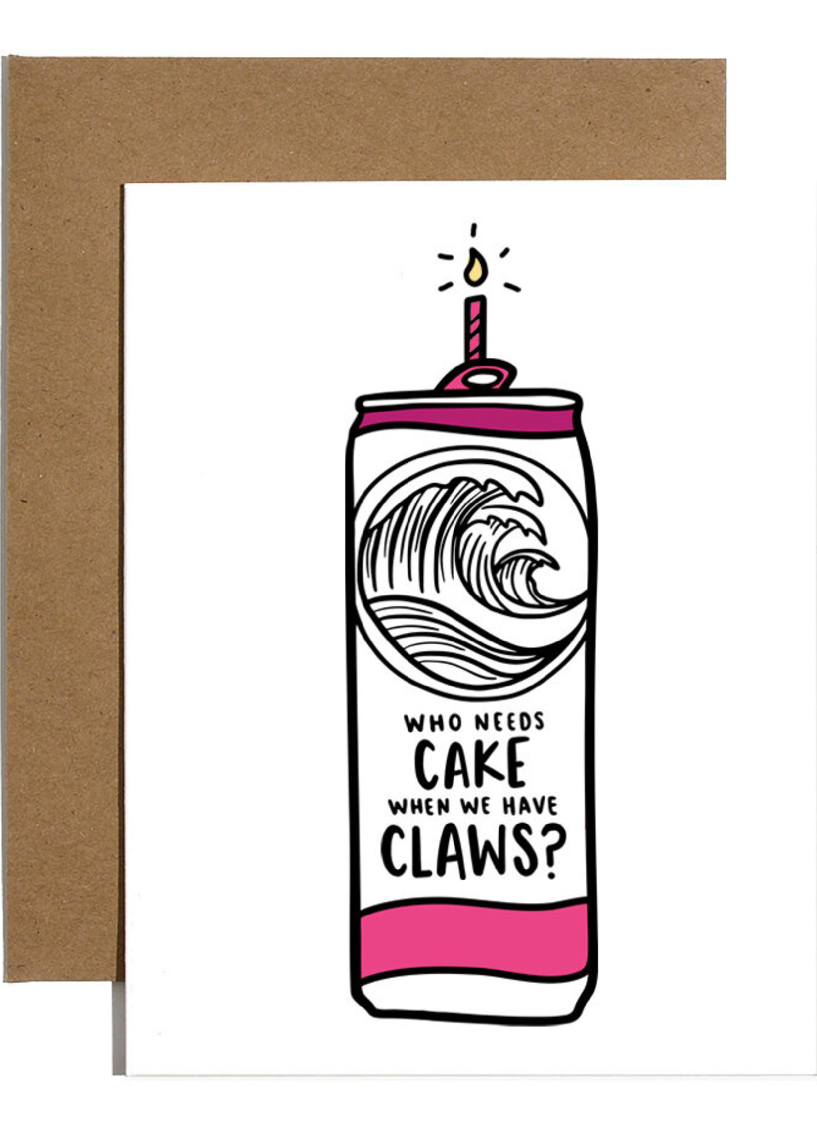 brittany paige cake claws card