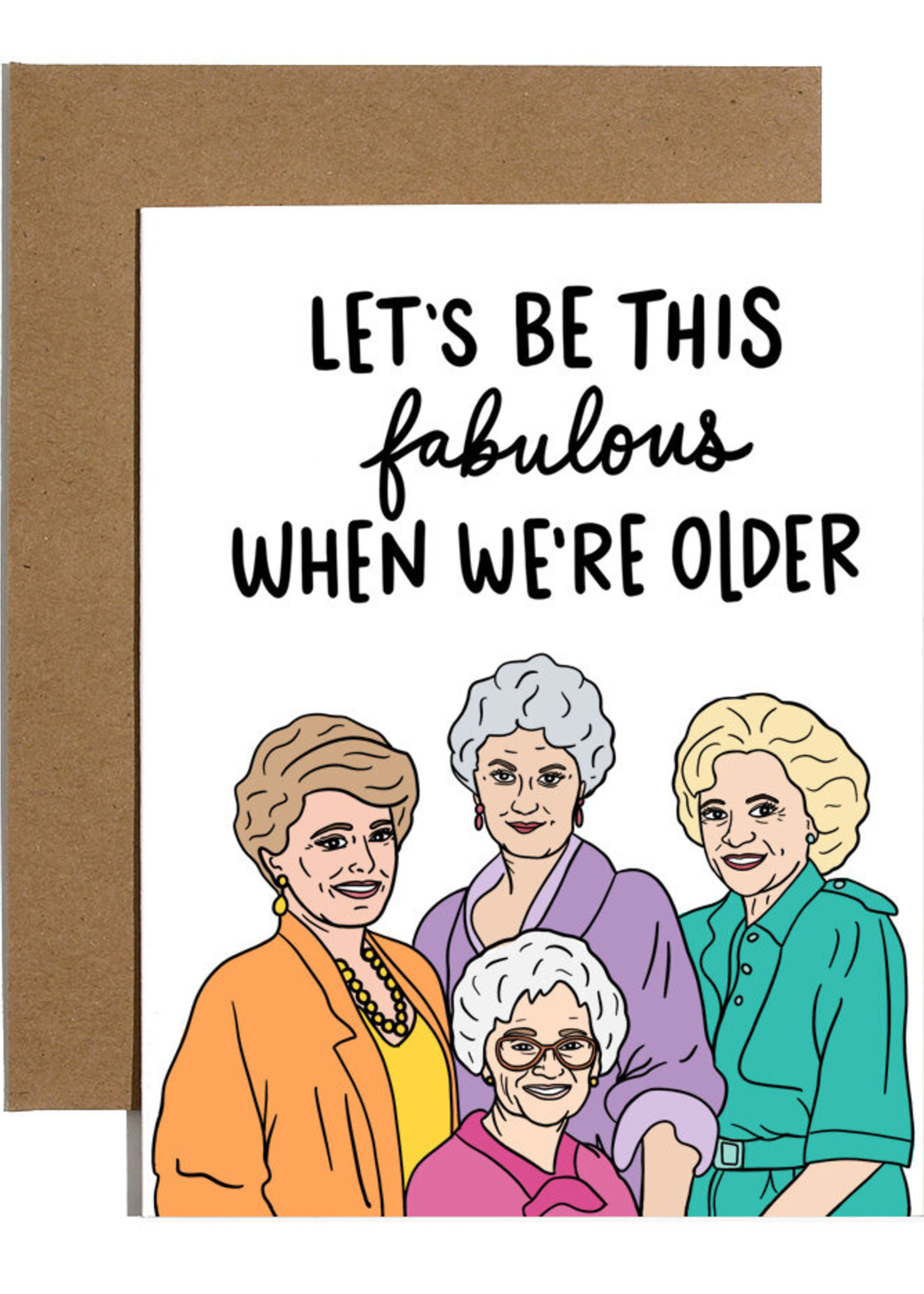 brittany paige golden girls card