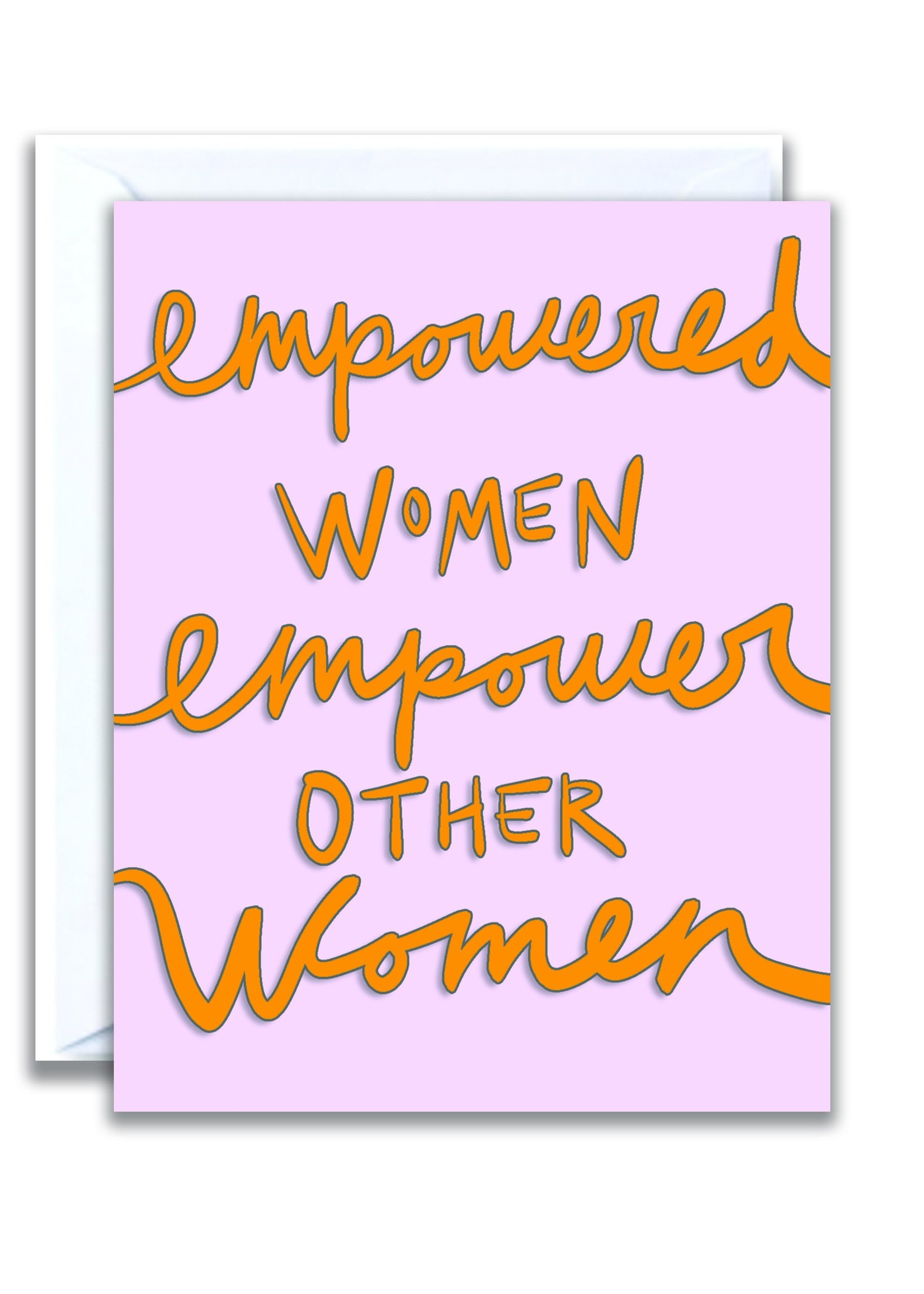 flo and syd empowered women card