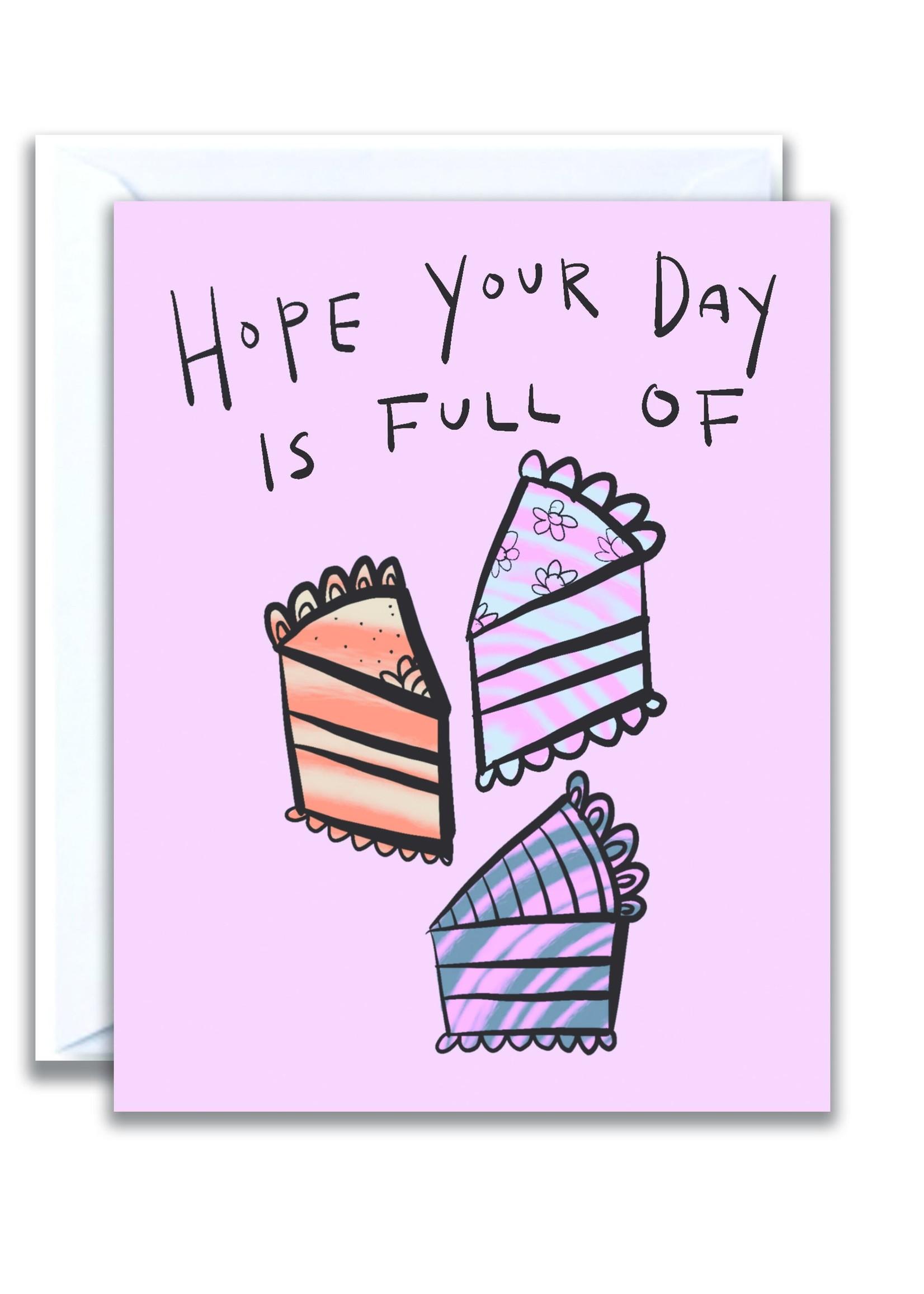 flo and syd cake birthday card