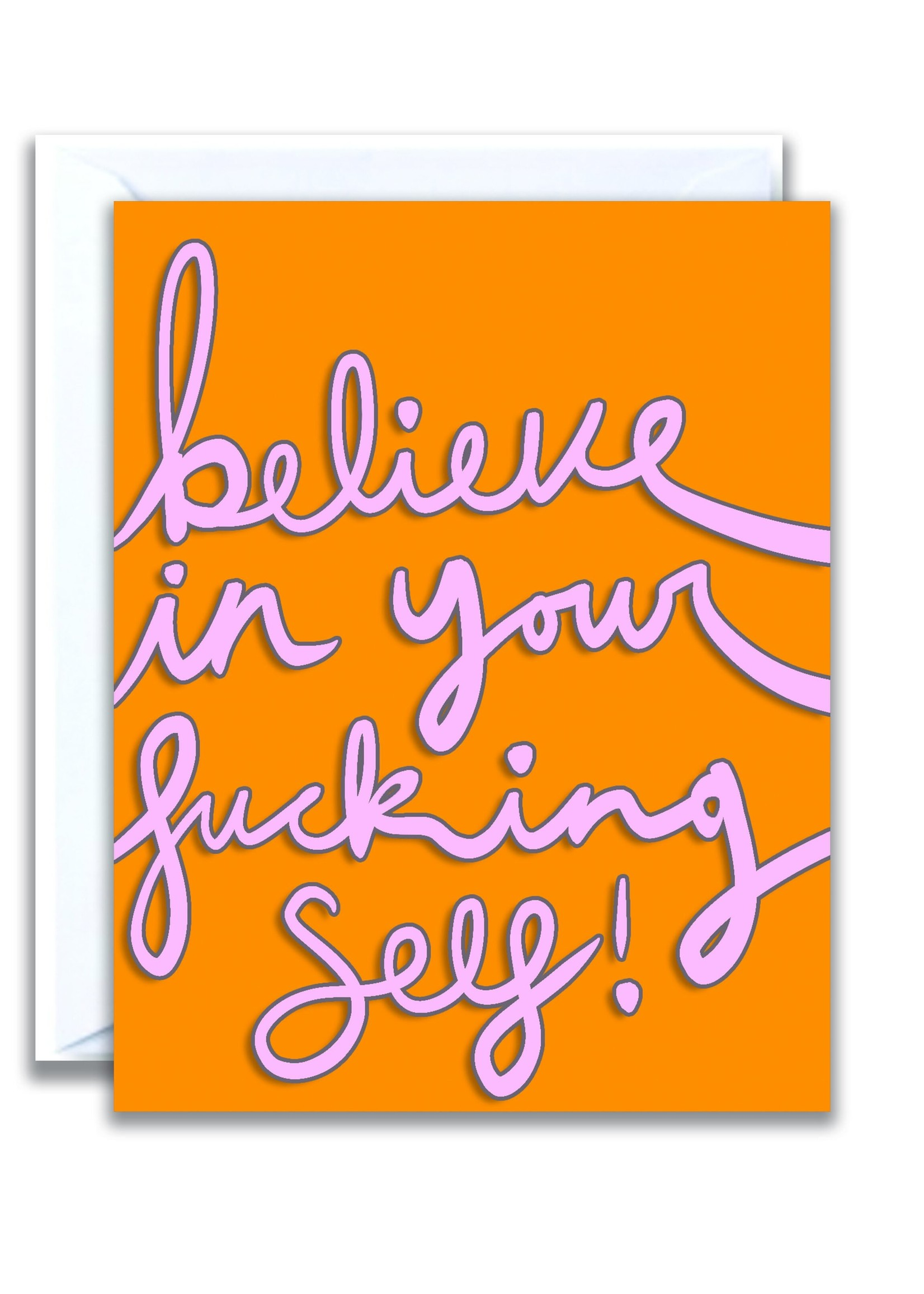 flo and syd believe in yourself card