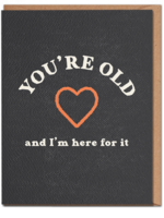 youre old card