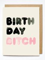 birthday bitch card