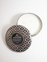 voluspa pink citron grapefruit 3 wick candle