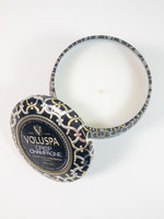 voluspa crisp champagne mini tin candle