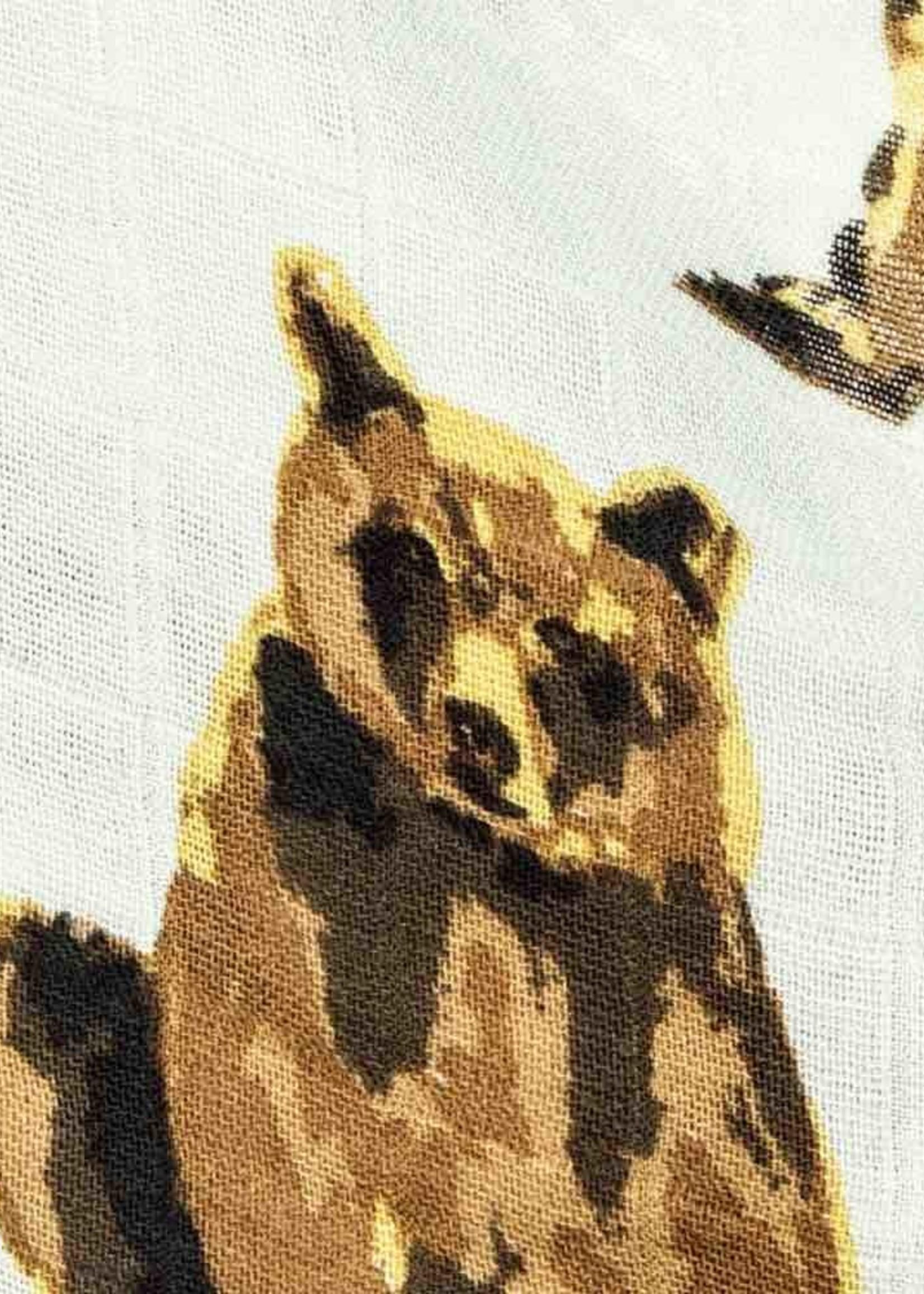 milkbarn milkbarn bamboo swaddle bear
