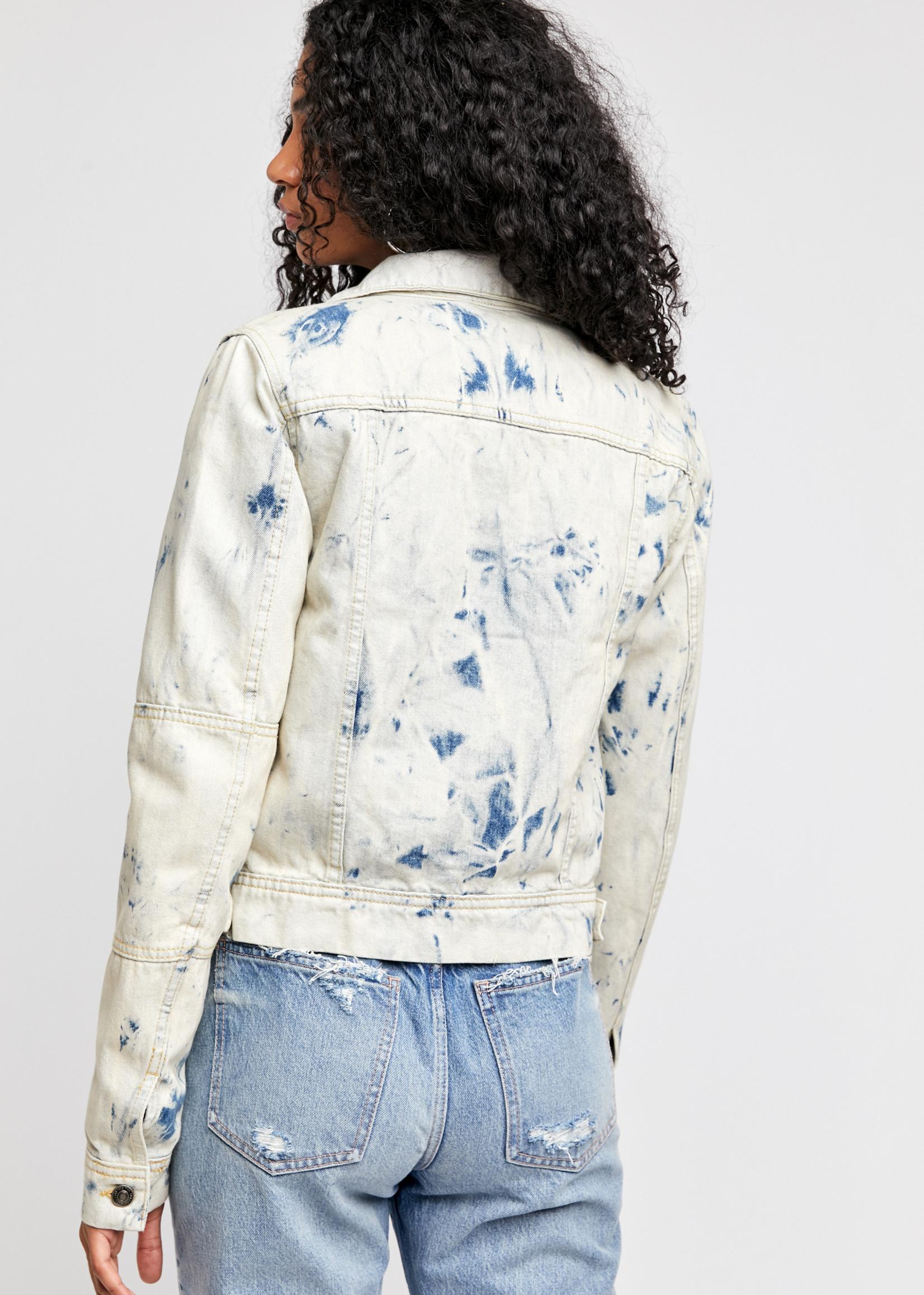 free people free people rumors denim jacket