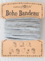 heather grey boho bandeau