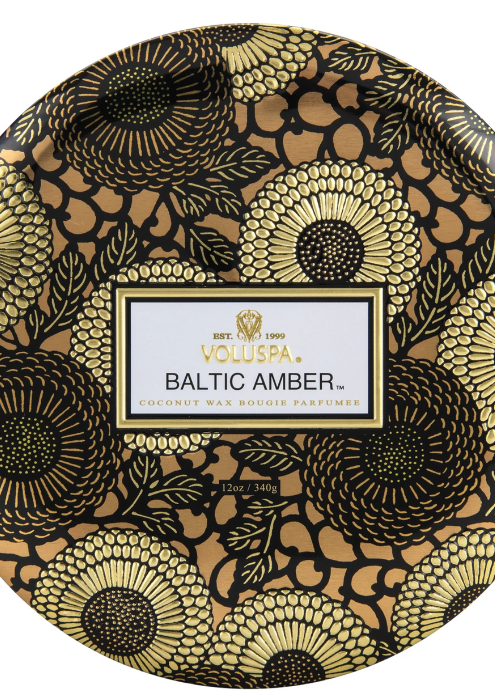 voluspa voluspa LE baltic amber 3 wick