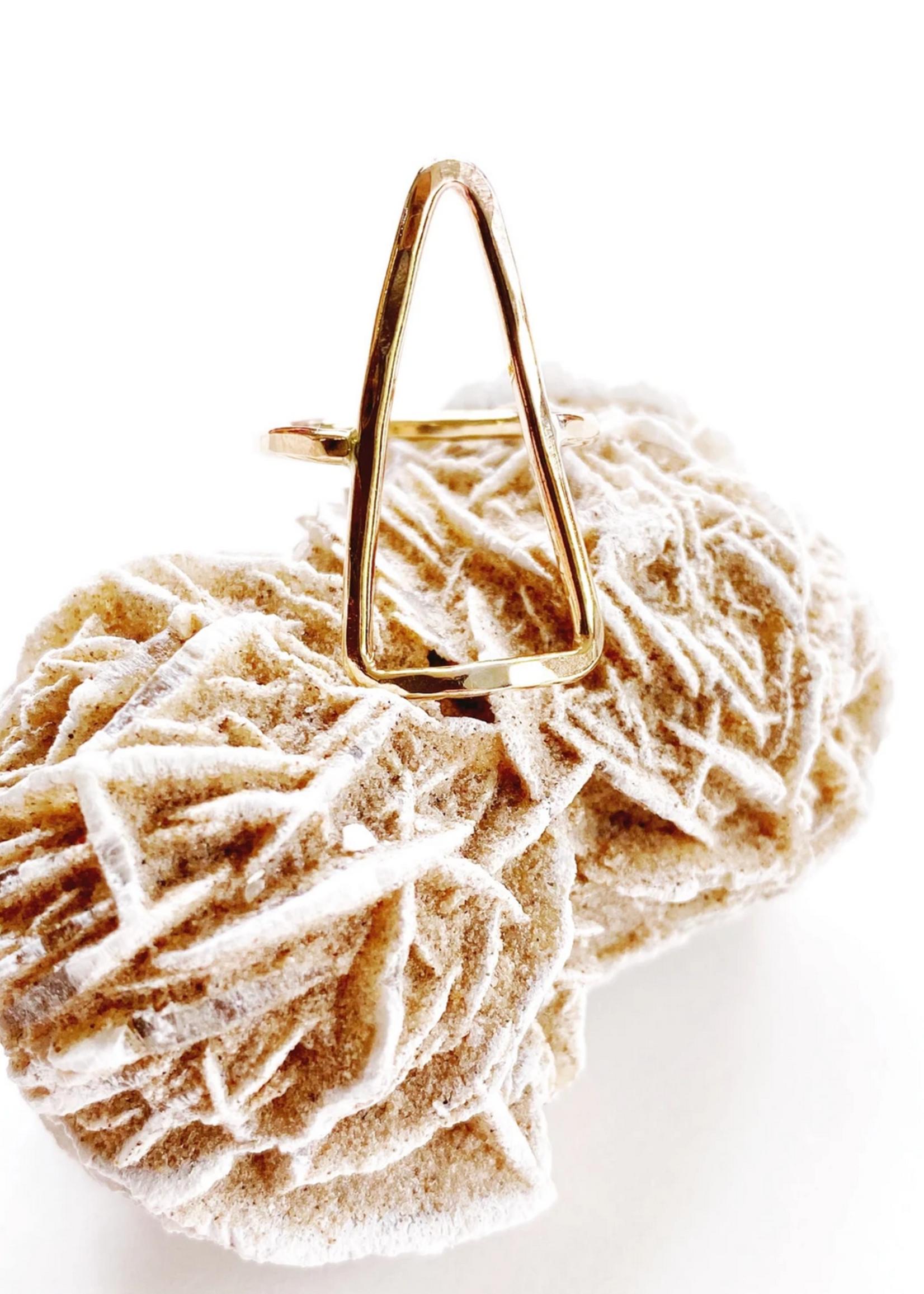 lotus jewelry studio lotus pyramid ring