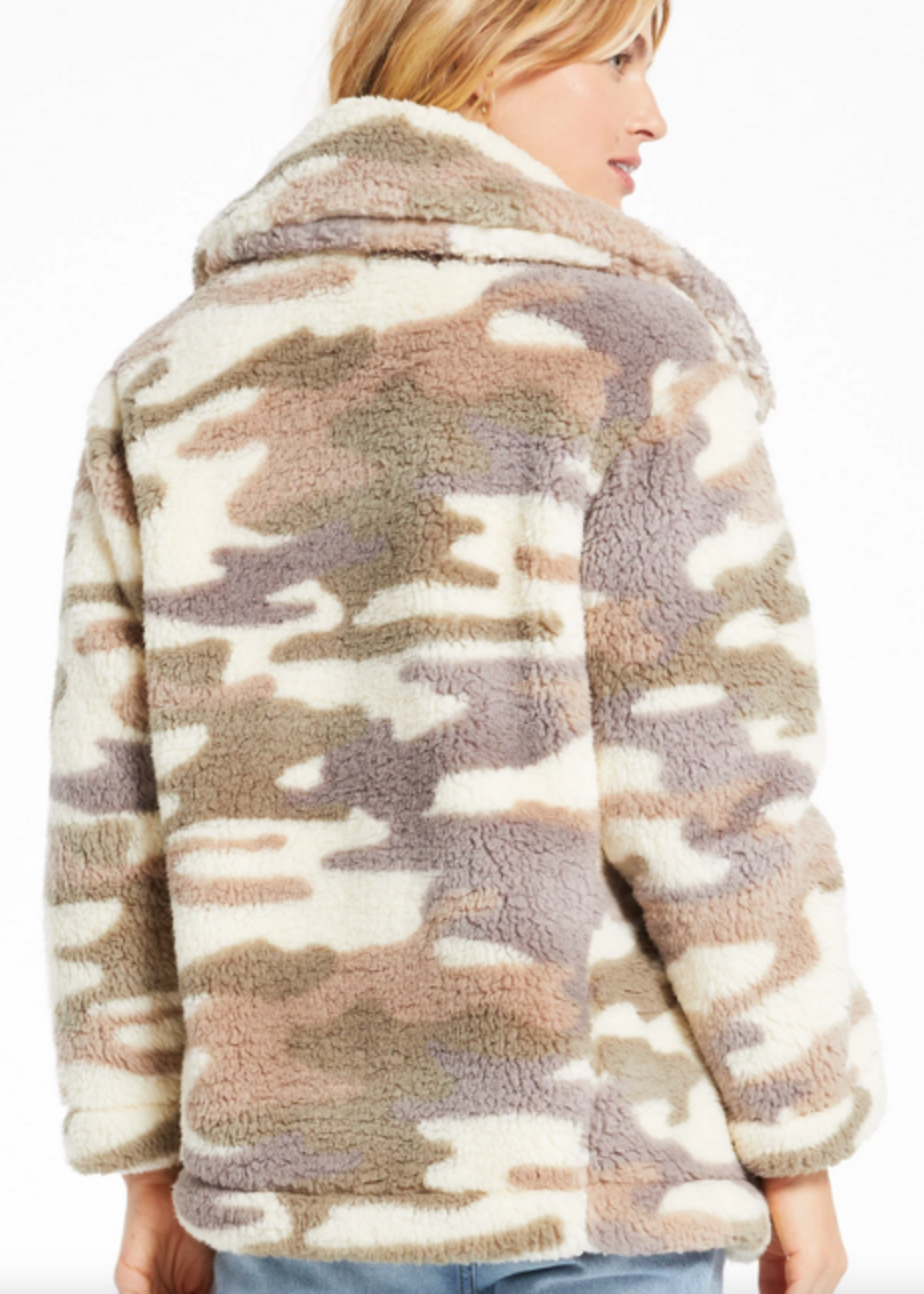 z supply z supply pippa camo coat