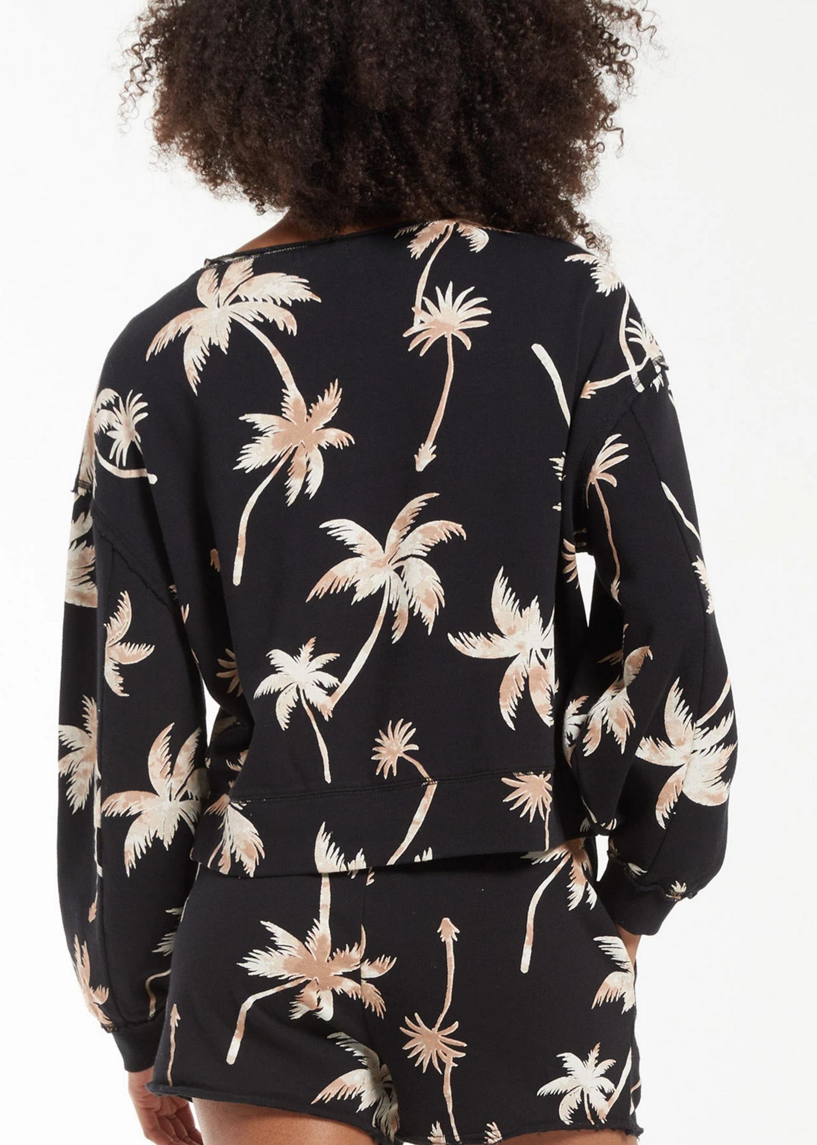 z supply z supply kai tropical sweatshirt