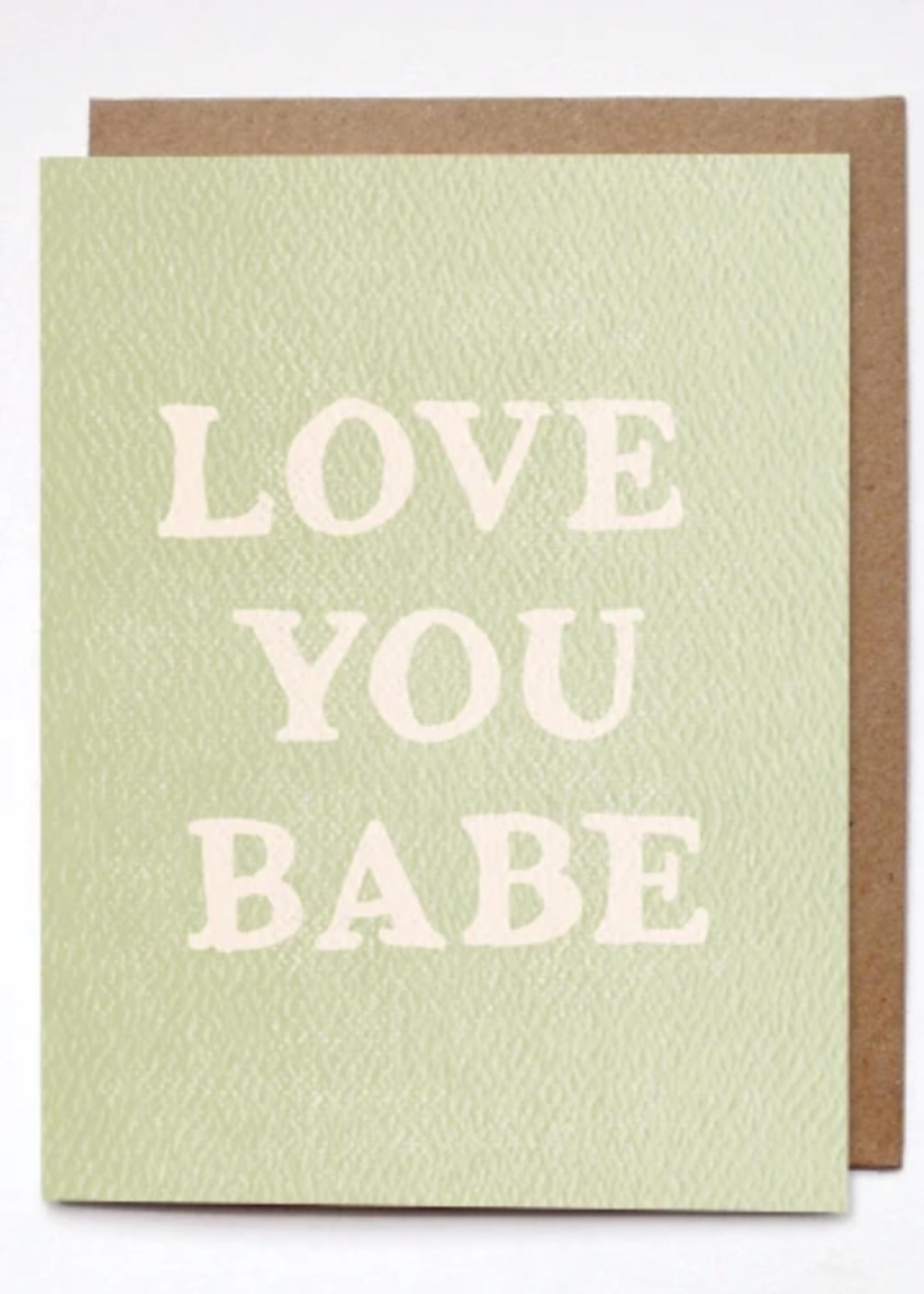daydream prints love you card