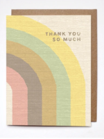 thank you so much card