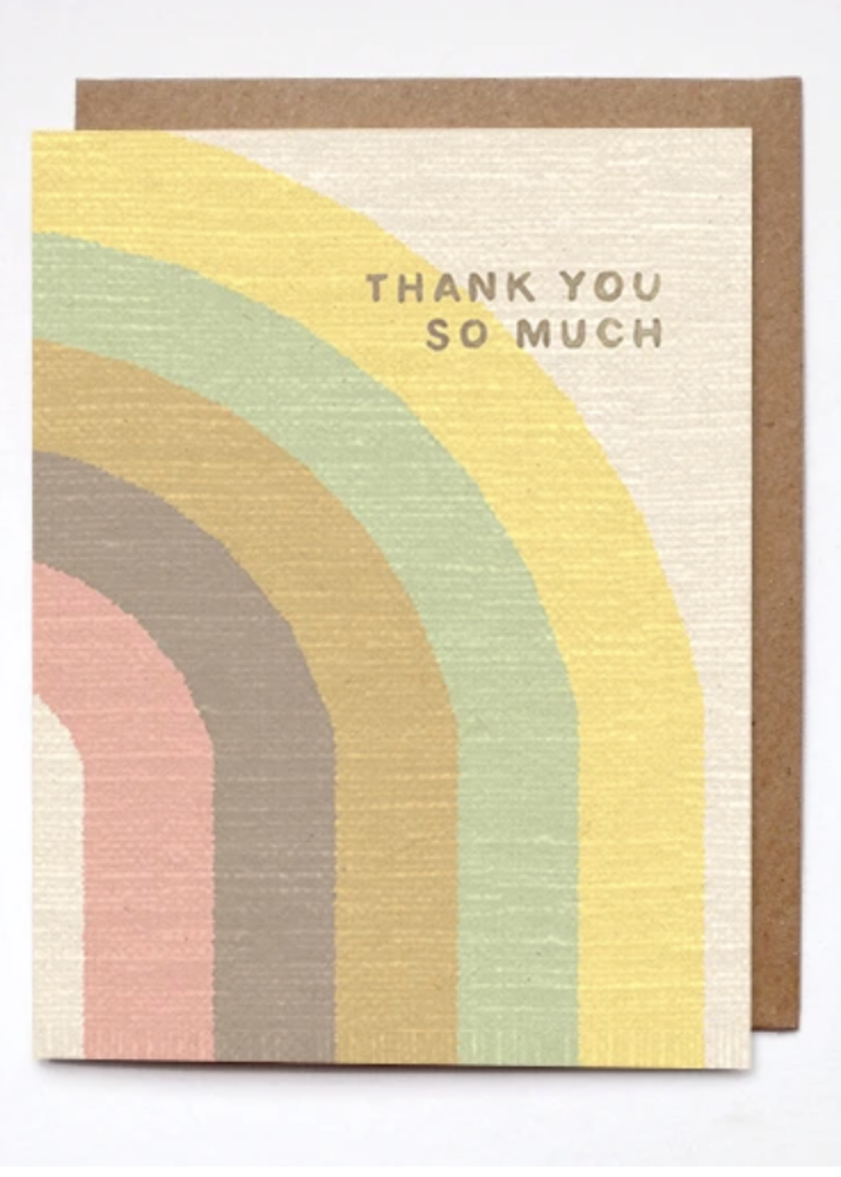 daydream prints thank you so much card