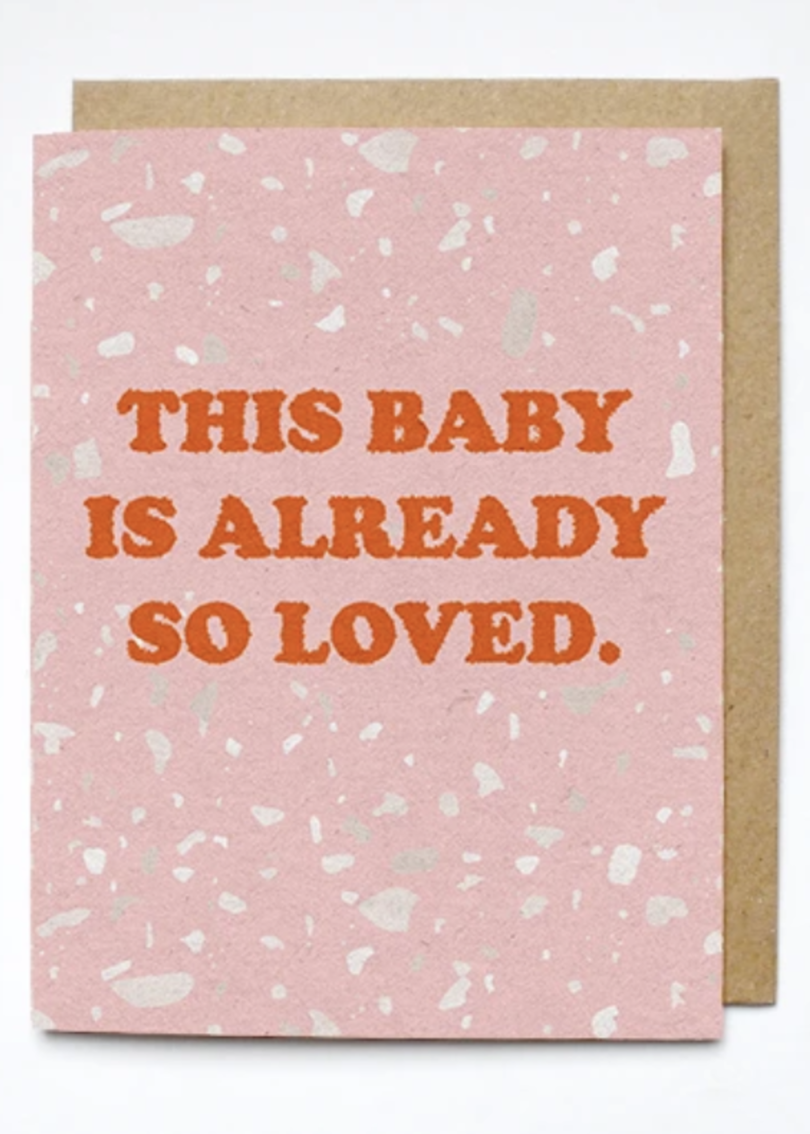 daydream prints baby so loved card
