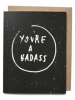 badass card