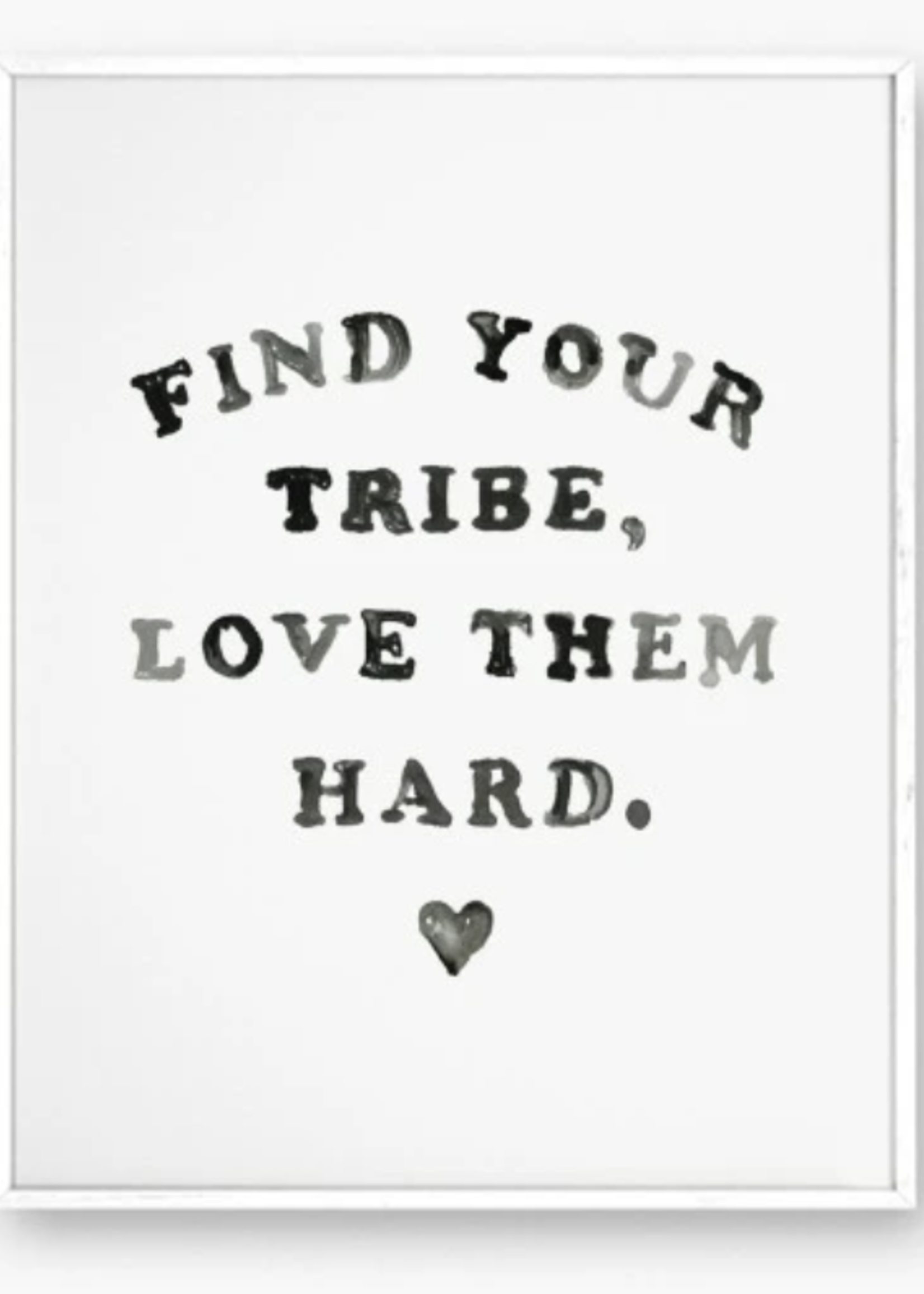 daydream prints find your tribe print
