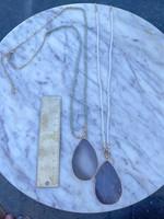 sparkling crystal necklace