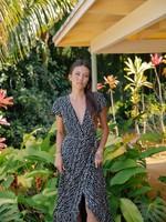 xix palms ibiza wrap dress