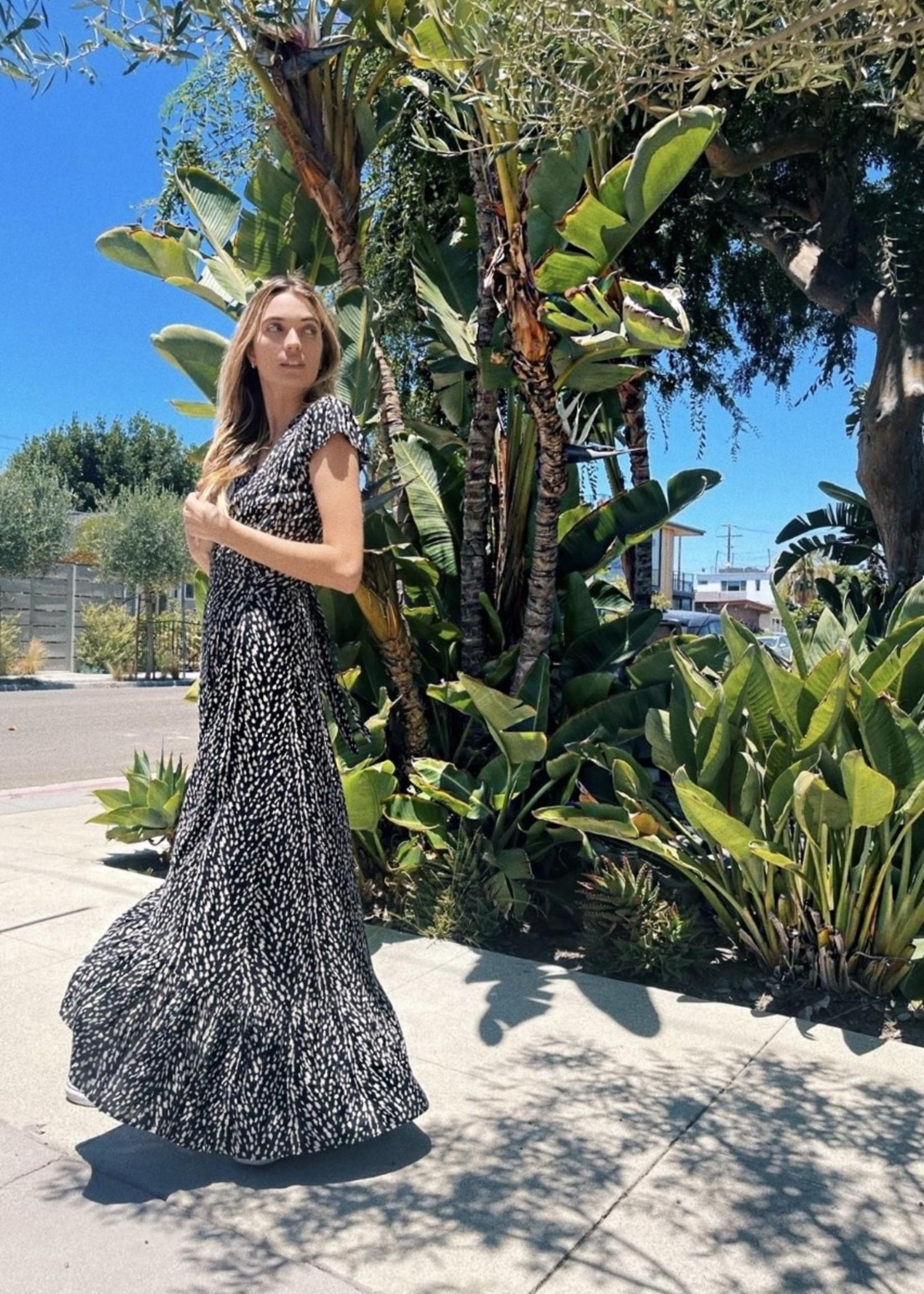 xix palms xix palms ibiza wrap dress