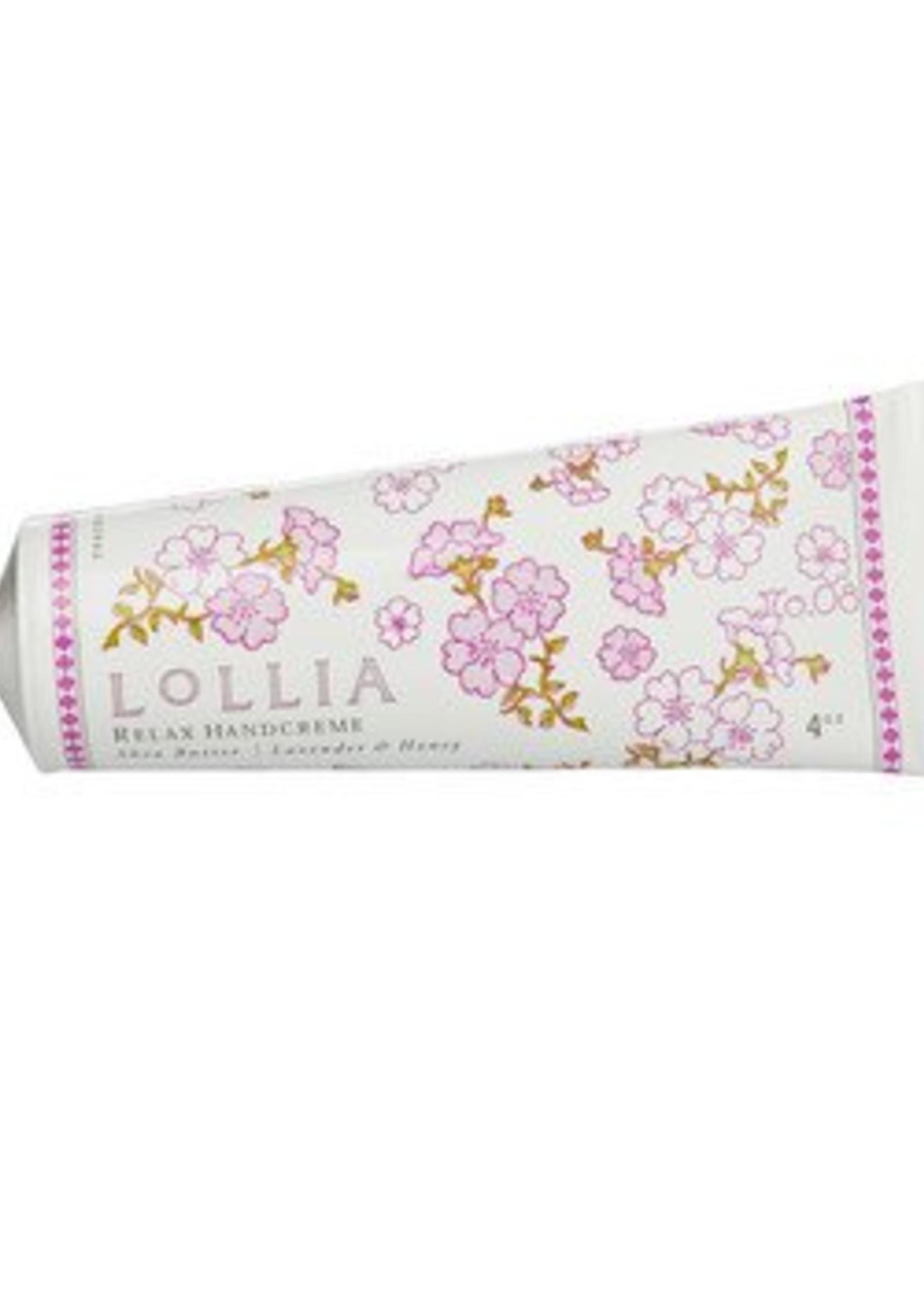 lollia relax handcreme
