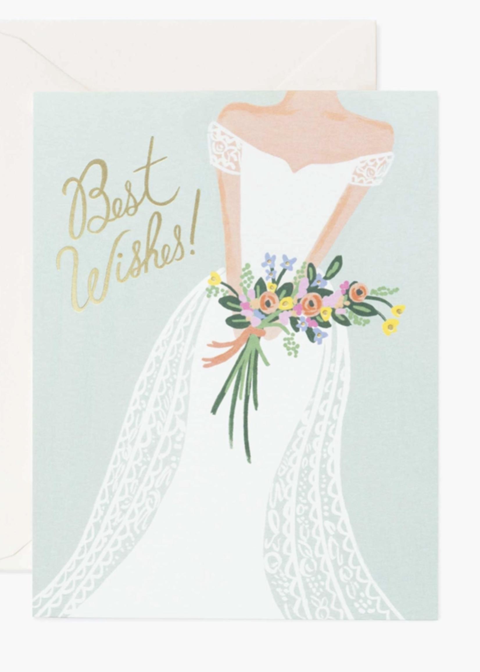 rifle paper co. rifle paper beautiful bride card