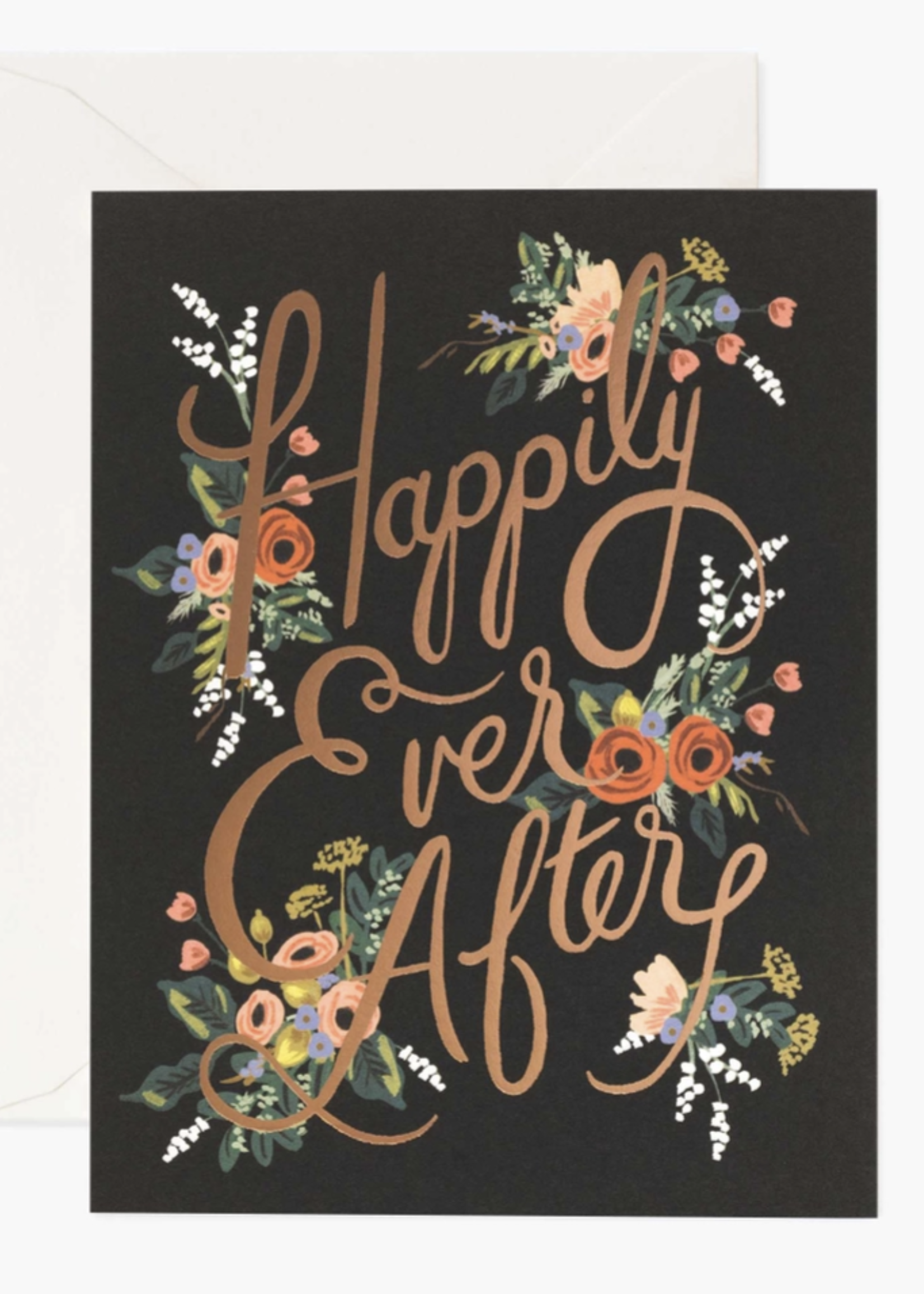 rifle paper co. rifle paper eternal happily ever after card