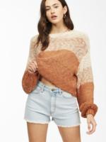 billabong blending in sweater